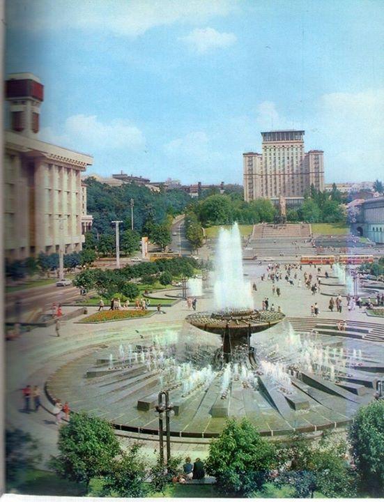 Площадь Независимости с высоты