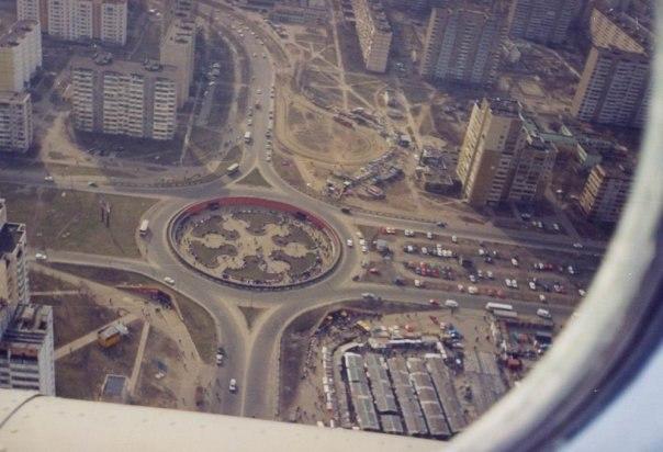 Фото 90-х годов, Героев Днепра, вид сверху