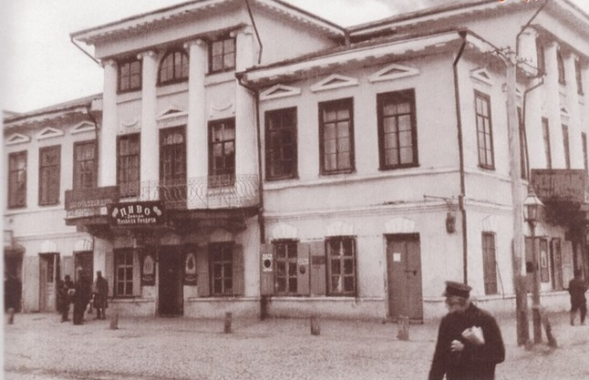 Набережно-Крещатицкая улица, Подол, начало 20 века