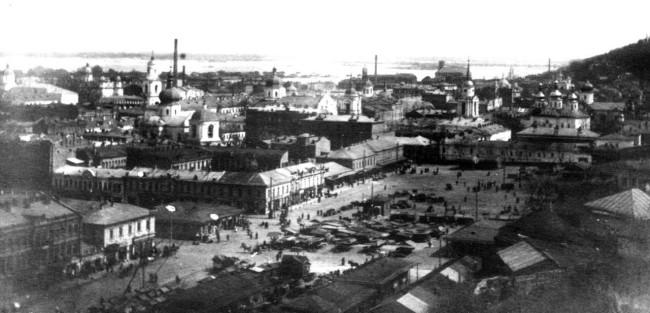 Житний рынок в начале 20 века