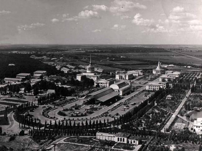 Старый Киев с высоты полета