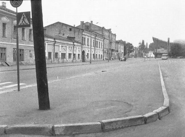 Житнеторжская площадь в 70-х годах в Киеве