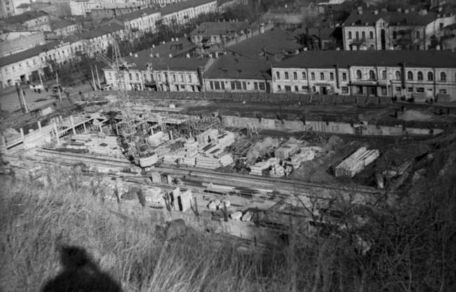 Как строили Житний рынок в Киеве в 70-х годах