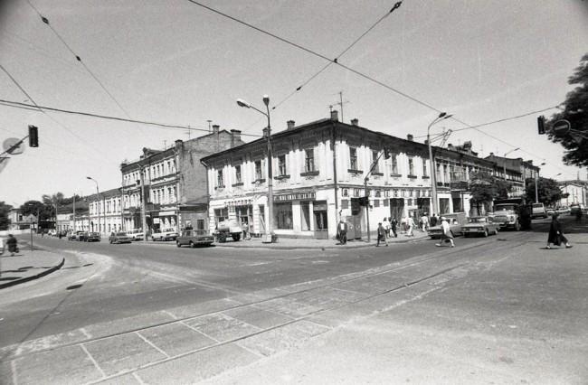 Район Житнего рынка в 80- годах