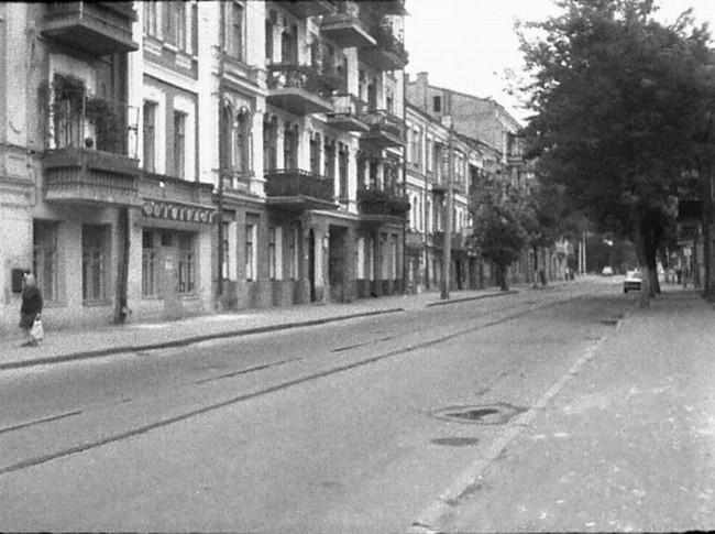 1980-е годы. Межигорская улица 24, 22 и 20
