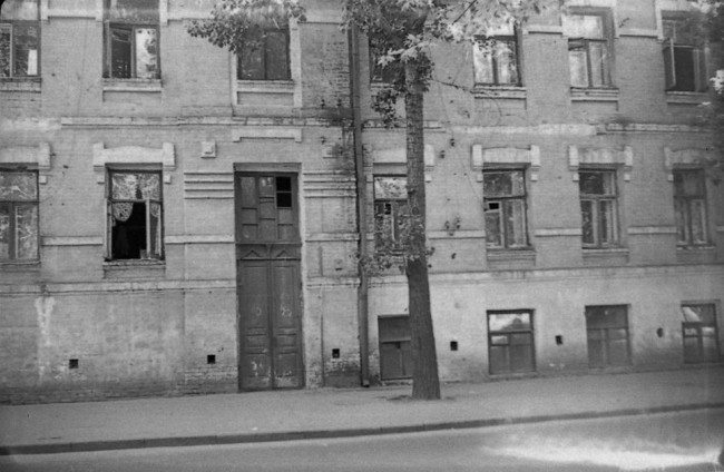 1980-е годы. Межигорская улица, 43