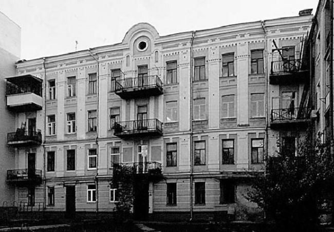 1980-е годы. Межигорская улица, 5