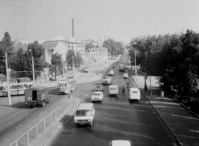 Набережная Днепра, Подол, 80-е