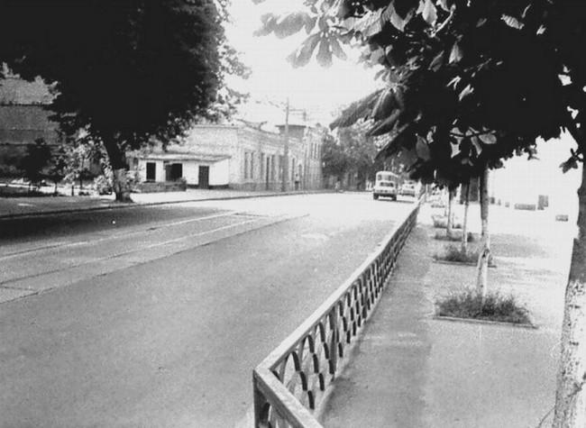 Пожарная часть на Подоле на улице Межигорской в 85 году