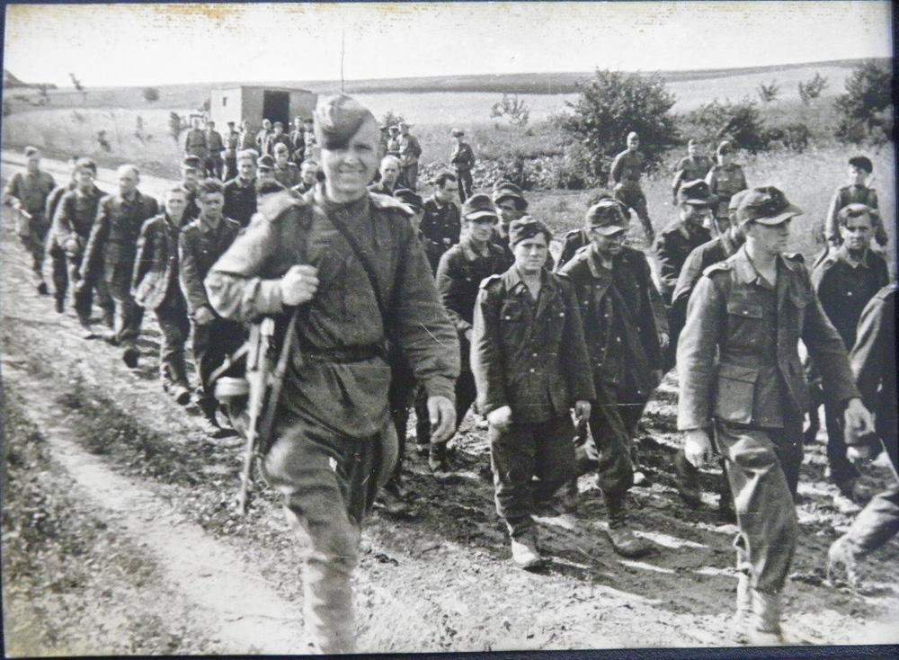 Пленные немцы Киев 1943 год