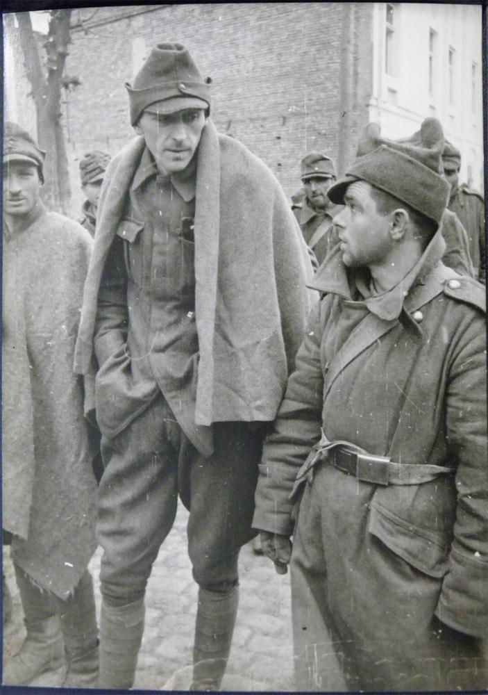 Румынские пленные Киев 1943 год