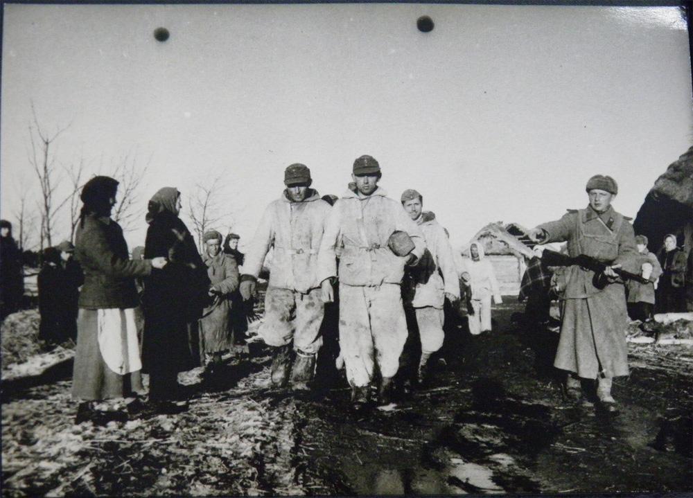 Пленные немцы под Киевом, 44 год