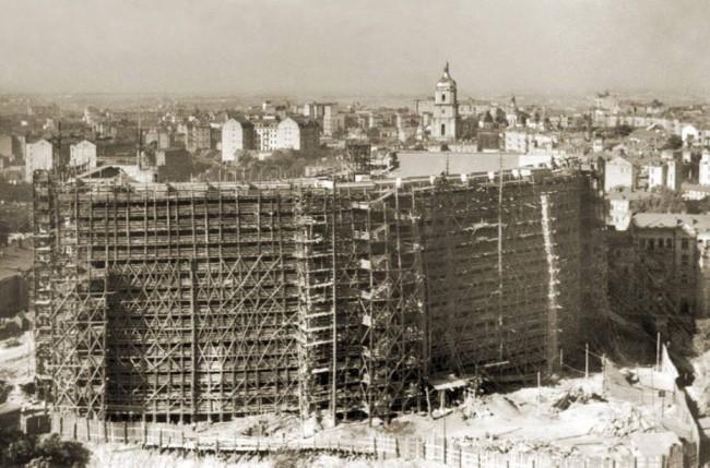 Как строилось здание министерства иностранных дел в Киеве