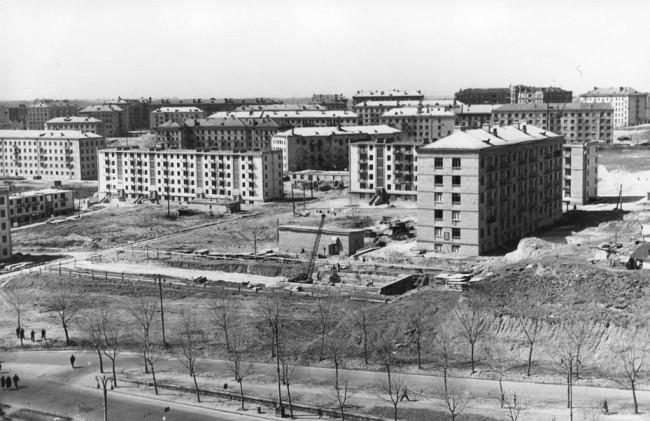 1950-е годы. Строительство Первомайского массива