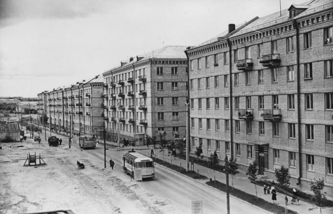 Соломенка в конце 50-х годов, Киев