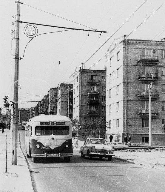 Ереванская улица в Киеве в 62 году