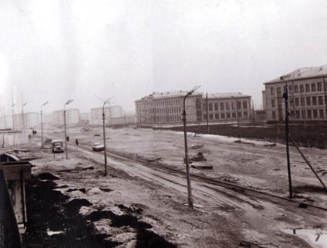 Бульвар Перова в 66 году в Киеве
