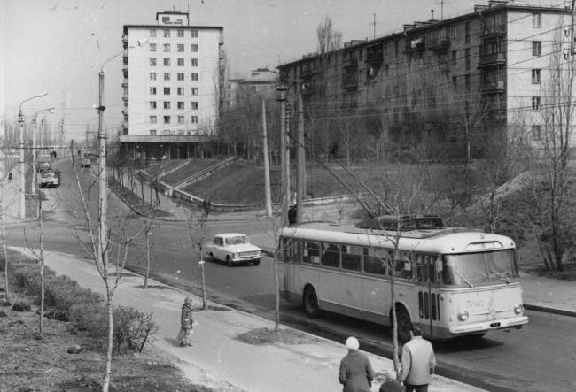 Курская улица в Киеве в 74 году