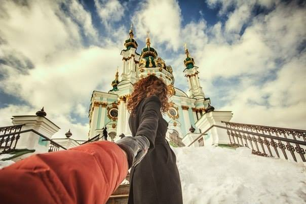 Follow me - Andreevskaya church Kyiv