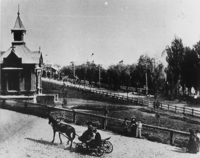 Днепр, Набережная в 1906 году