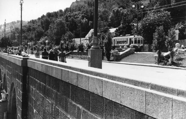Набережная Днепра в 50-х