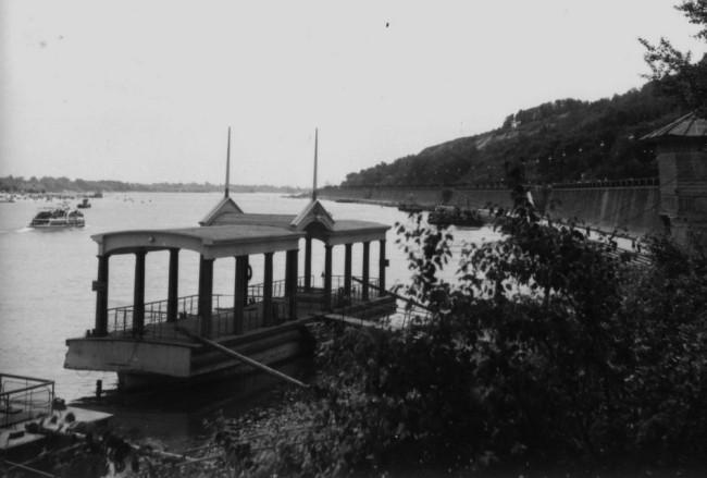 1954 год. Набережная Днепра
