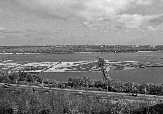 1974 год. Набережная Днепра, лето
