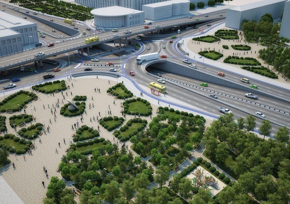 Проект реконструкции развязки у Шулявского моста