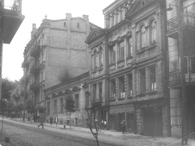 Малая Житомирская улица в 30-х годах, Киев