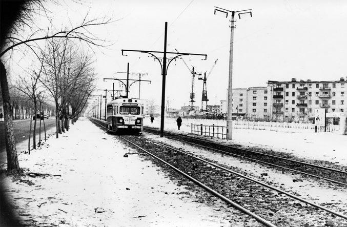 Киев, рынок Юность, 1964 год