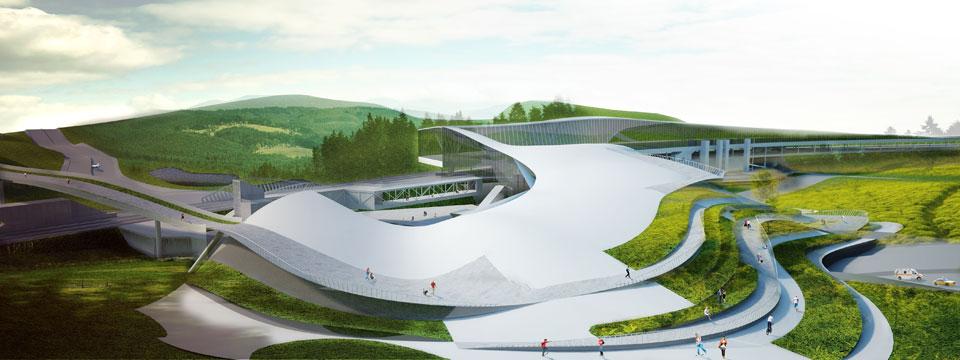 Проект транспортного узла метро Сырец