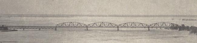 1937 год. Петровский железнодорожный мост