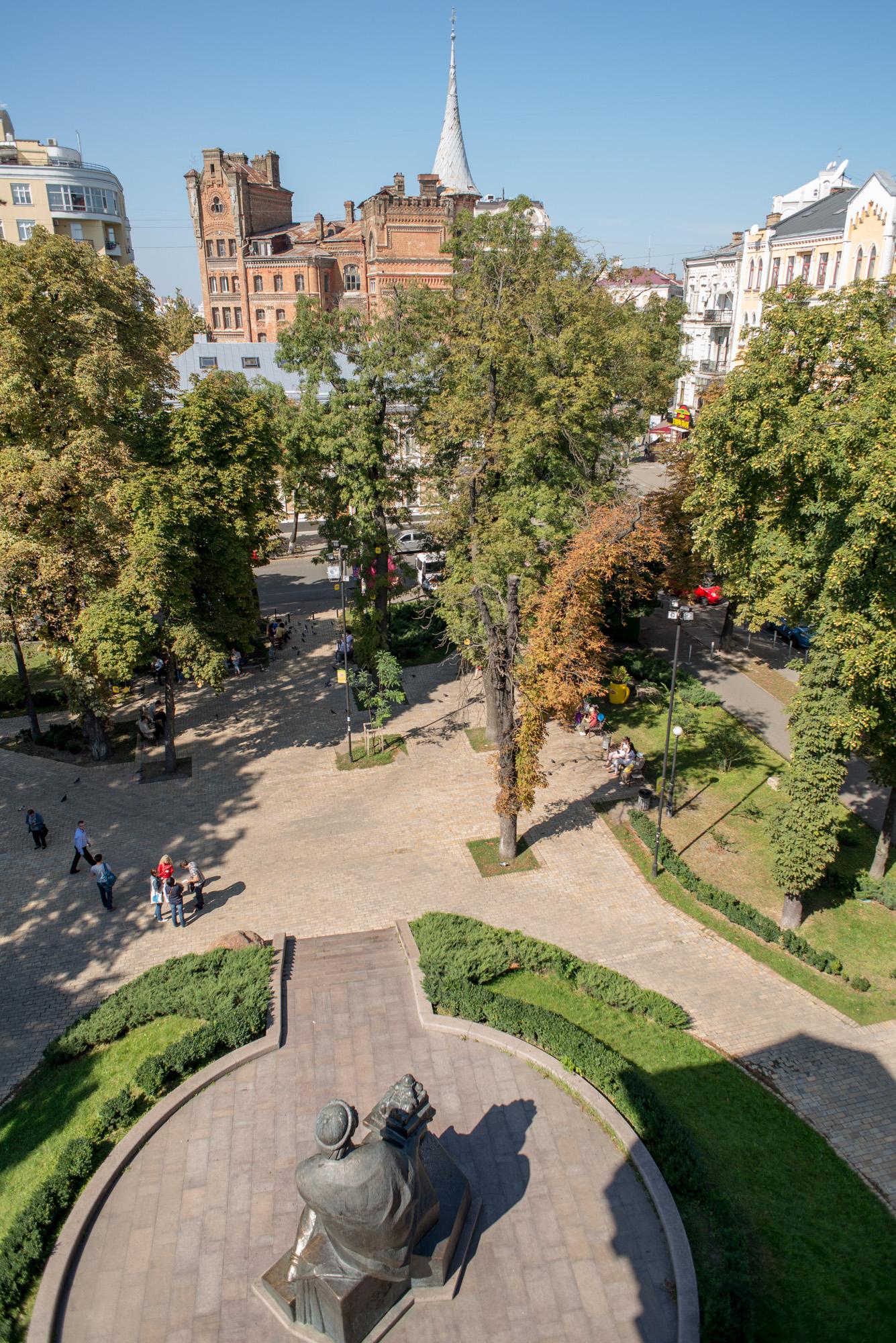 Вид с Золотых ворот Дмитрий Фоменко