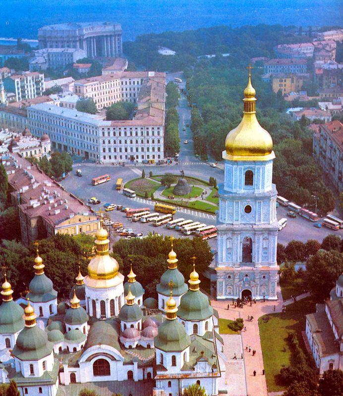 Красивый Киев на таймлапсе