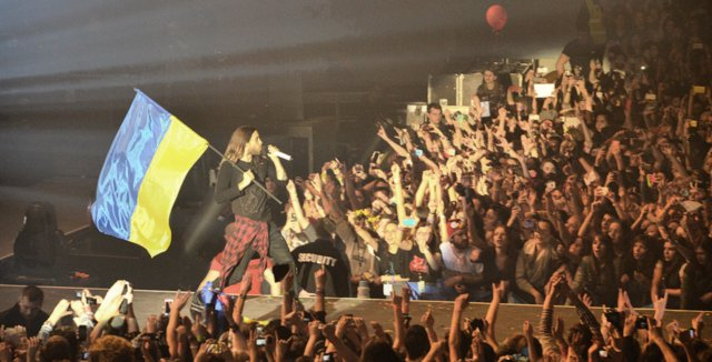 Джаред Лето концерт в Киеве