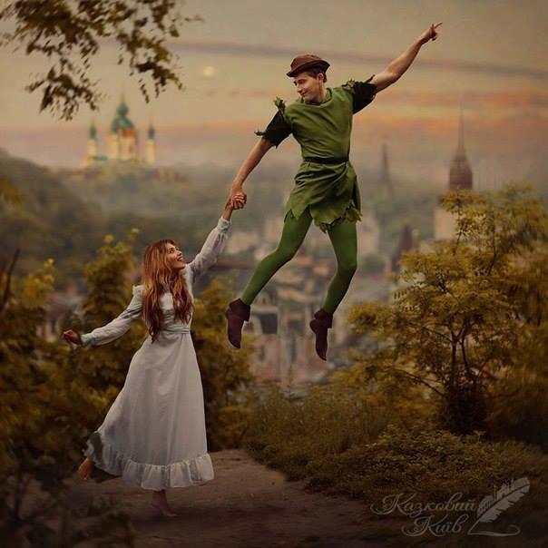 Сказочный Киев Казковий Київ Питер Пэн