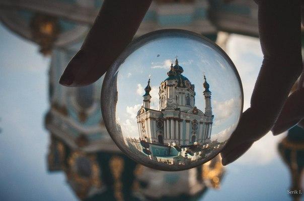 Сферический Киев. Андреевская церковь