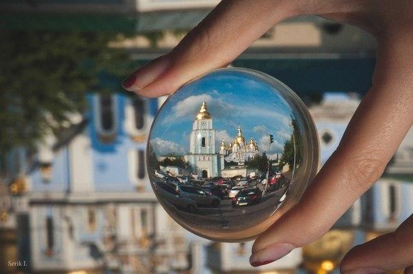 Сферический Киев. Михайловская площадь