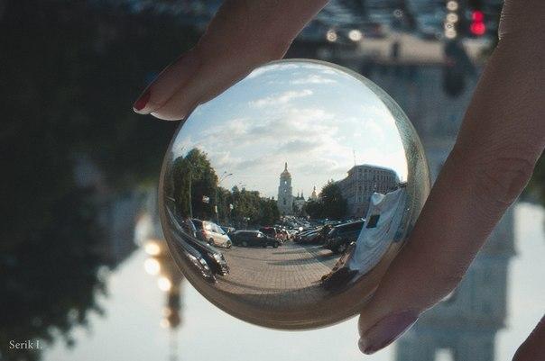 Сферический Киев. Софийская колокольня