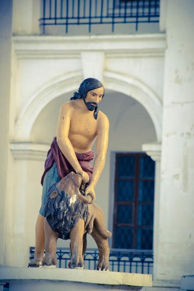 Самсон на Контрактовой