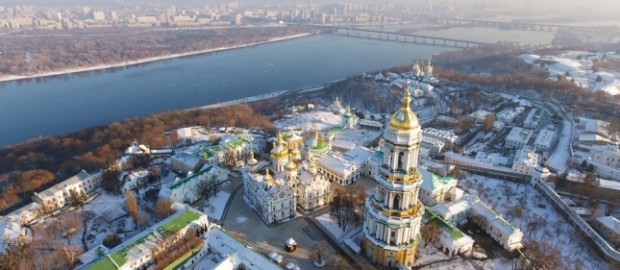 Киев с высоты птичьего полета Олег Стельмах