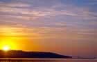 Закат на Киевском море — таймлапс