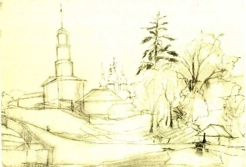 Киев рисунки Тараса Шевченко