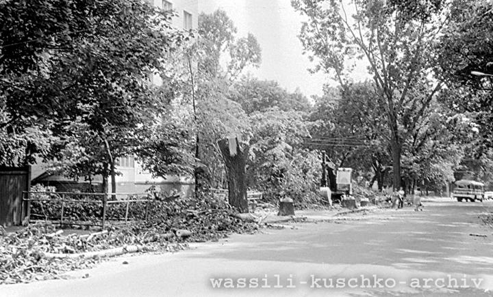 1988 год. Улица Герцена, 1a. Фото из коллекции Василия Кушко.