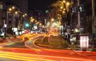 Киев Blur. Ночной город на фото Олега Осадчего