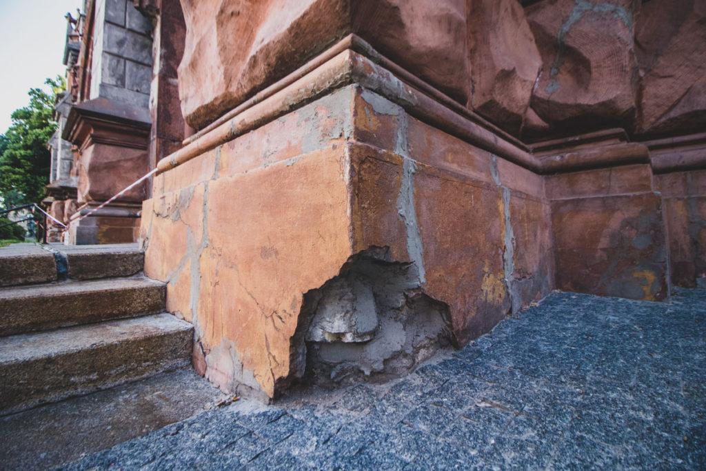 ремонт собора святого николая в Киеве