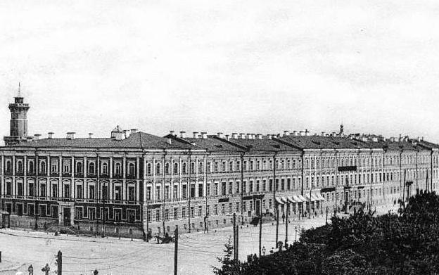 Будівля Присутніх місць, вулиця Володимирська, 13, де працював Київський окружний суд