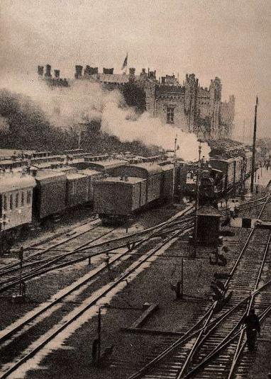 Вокзал Києва наприкінці XIX століття