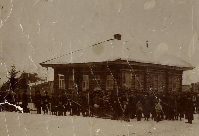 Поселенці на засланні у Олонецькій губернії