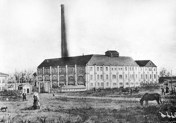 Цукровий завод кінця 19 століття